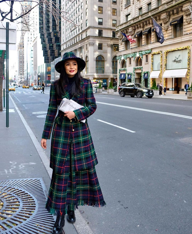 Polubienia 689 Komentarze 10 Streetstyle London Streetstyle London Na Instagramie Beautiful Dilettamenta Fashion Tartan Coat