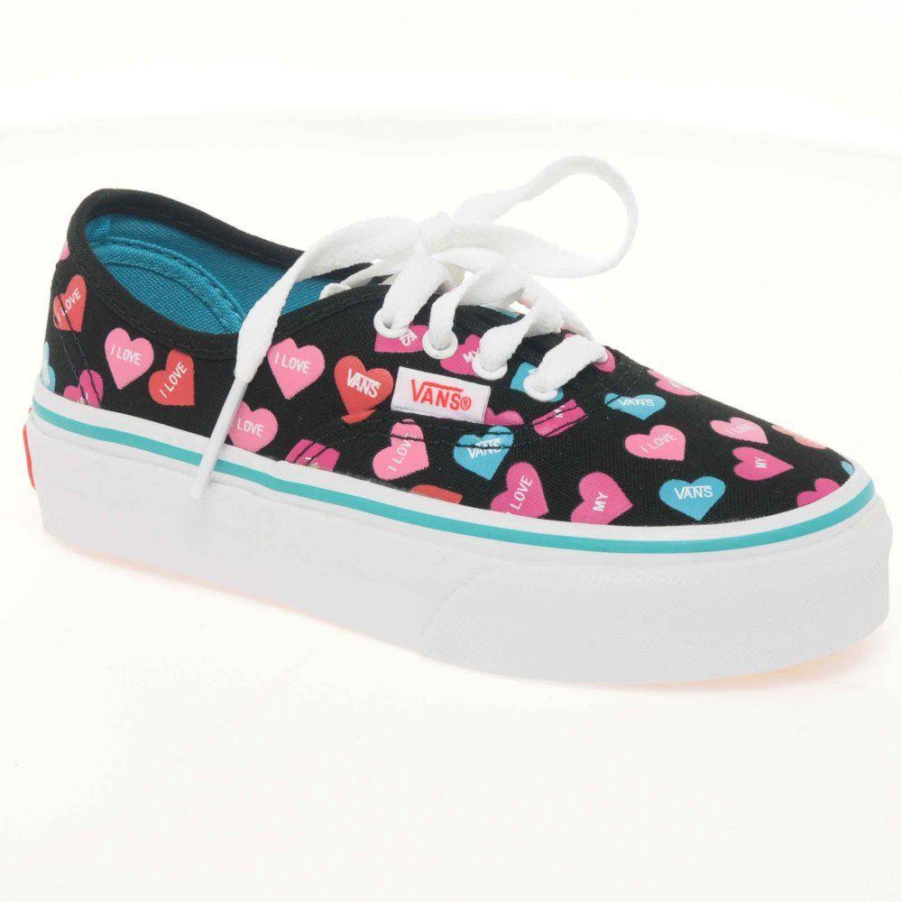 girls shoes vans