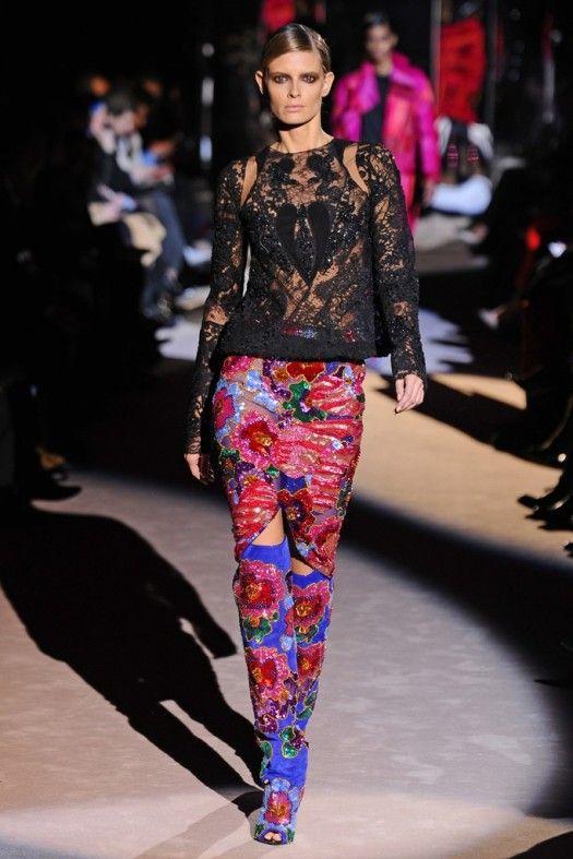 TOM FORD Fall/Winter 2013-2014 Womenswear Runway Show/London Fashion Week