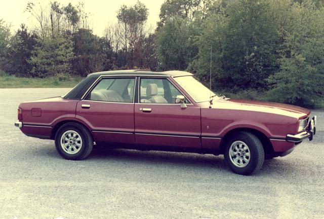 Ford cortina - I had one of these, 1978 S Reg 2.0L Ghia. Couldn't afford the fuel