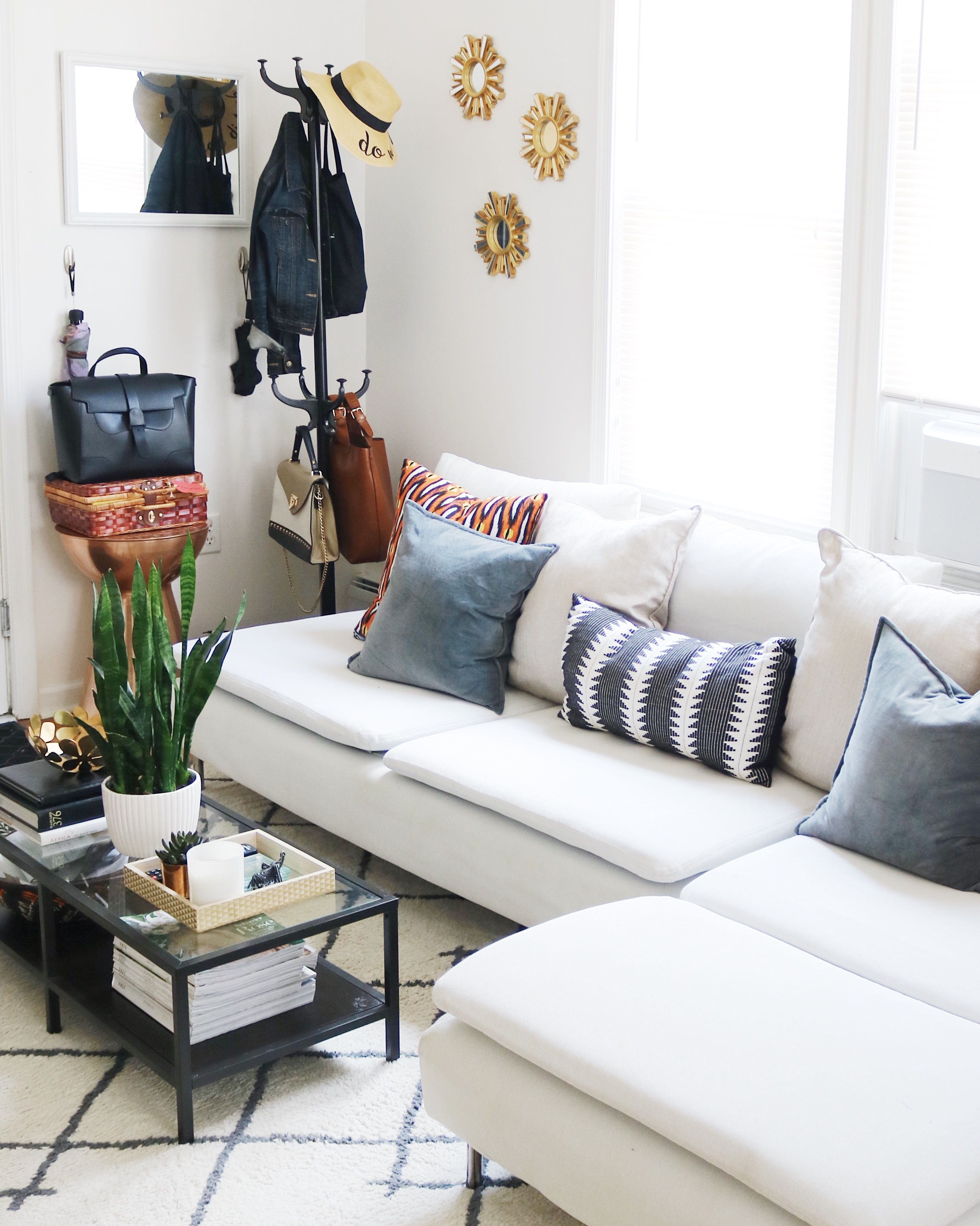 Ikea Soderhamn White Sofa Coat Tree Apartment Living Room Decor Endearing Affordable Living Room Designs 2018