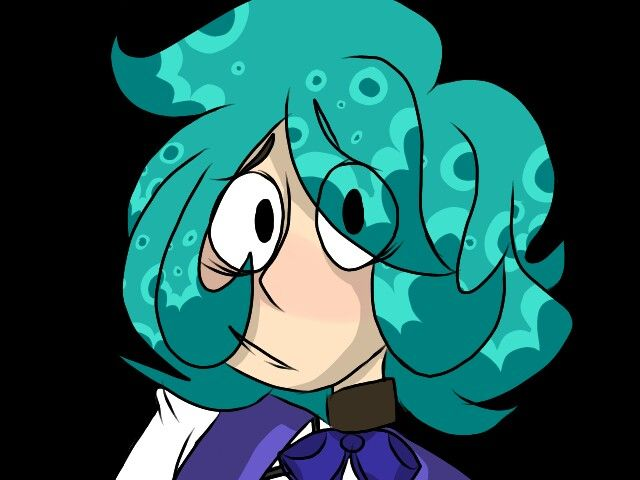 Octopus Lady My Arts Character Art