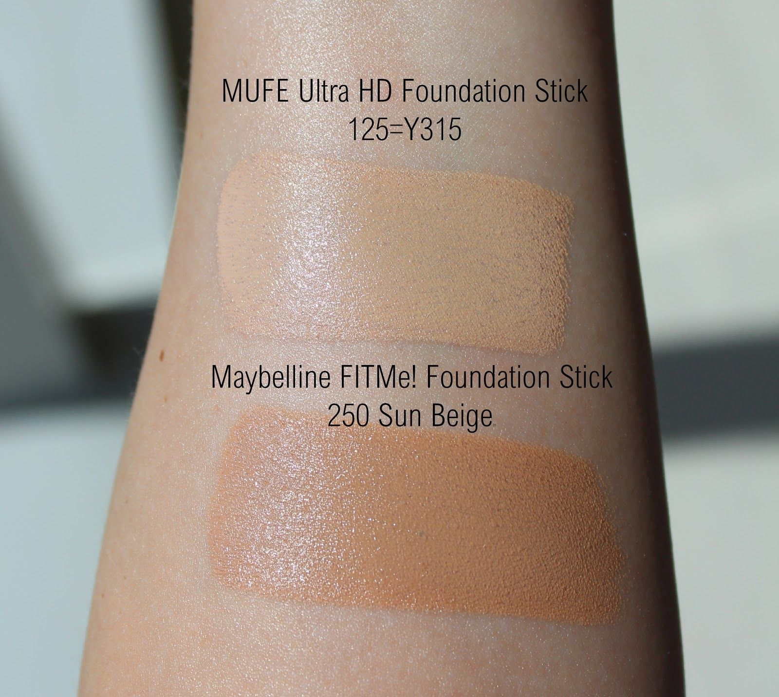 Make Up Forever Hd Foundation Stick Review And Swatches Maybelline