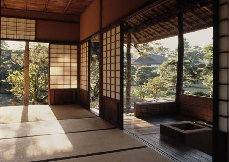 japanese traditional house ieaau architecture of the month nippon pinterest japanische. Black Bedroom Furniture Sets. Home Design Ideas