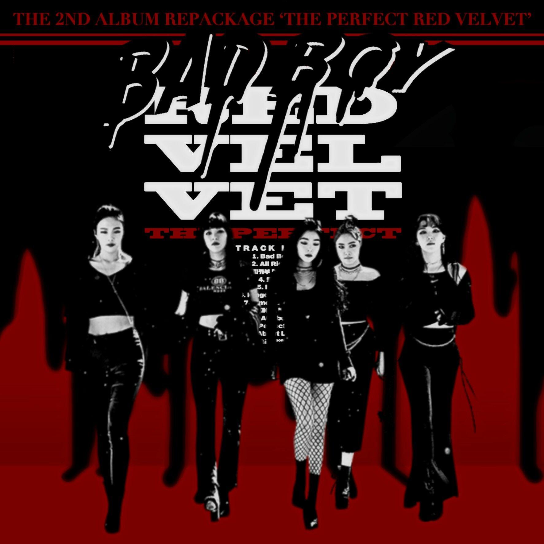 RED VELVET BAD BOY / THE PERFECT RED VELVET album by LEAlbum   album