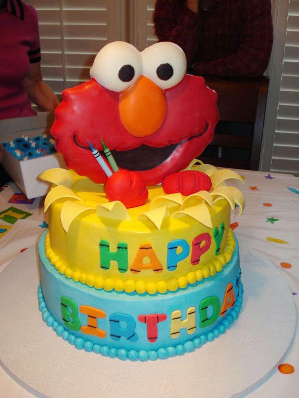 Fine Elmo Birthday Cakes Design 2 Birthday Cake Cake Ideas By Funny Birthday Cards Online Inifodamsfinfo