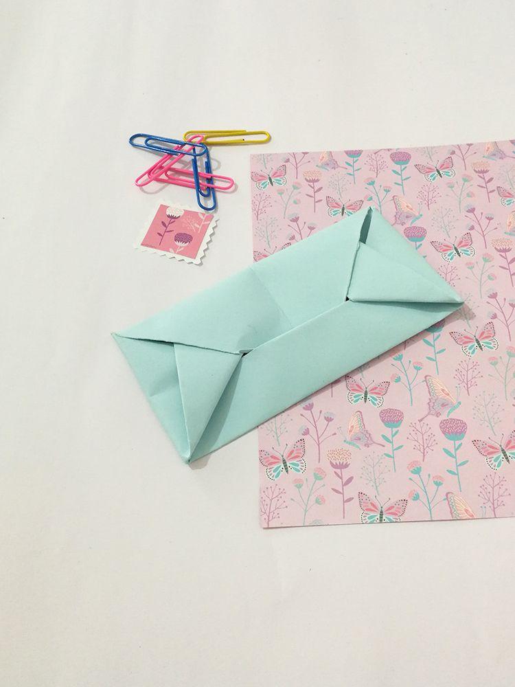 Creojam Paper Envelope Origami Folding Diy Tutorial