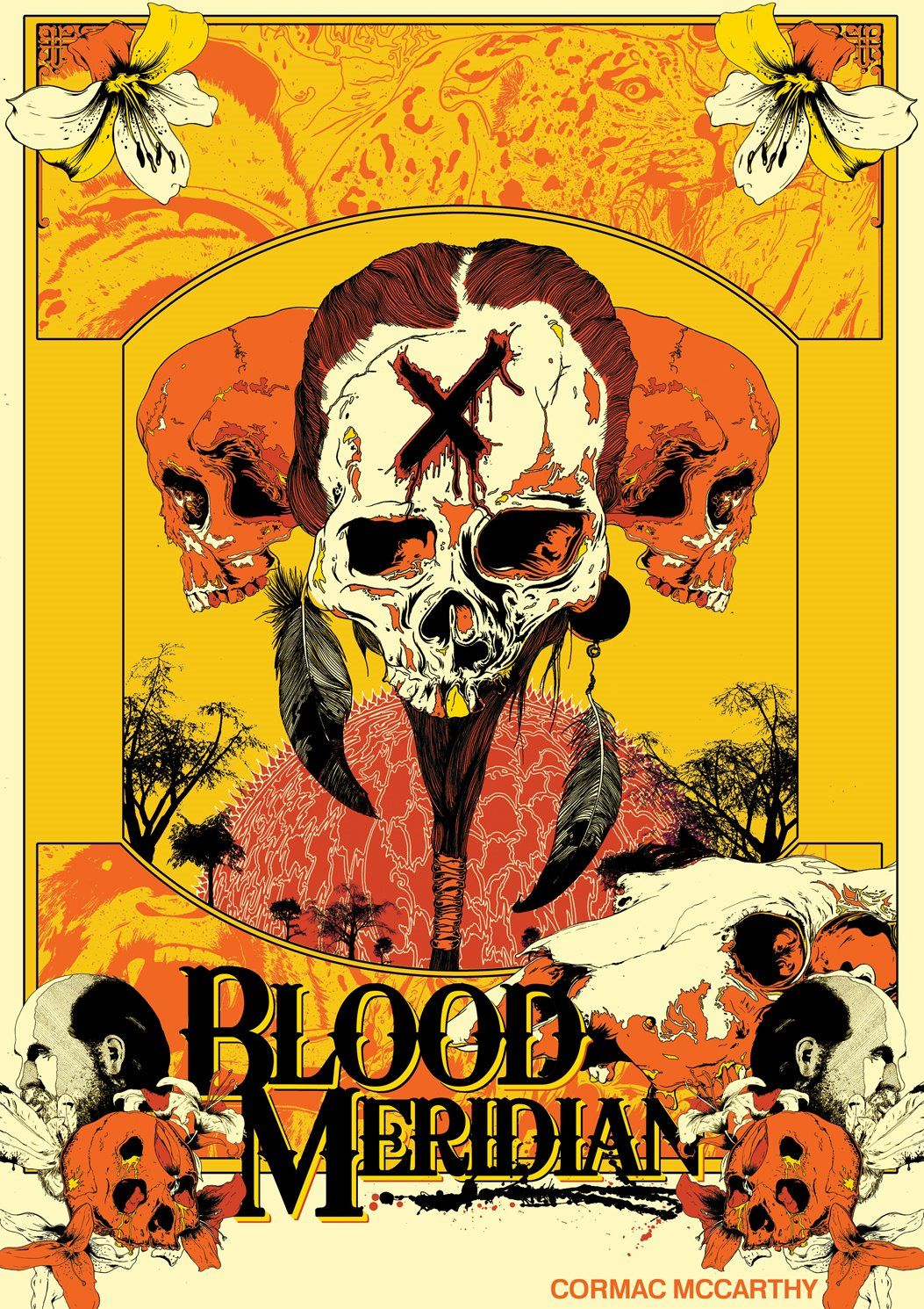 Cormac Mccarthy Libros Blood Meridian Prints And Posters In 2019 Pinterest