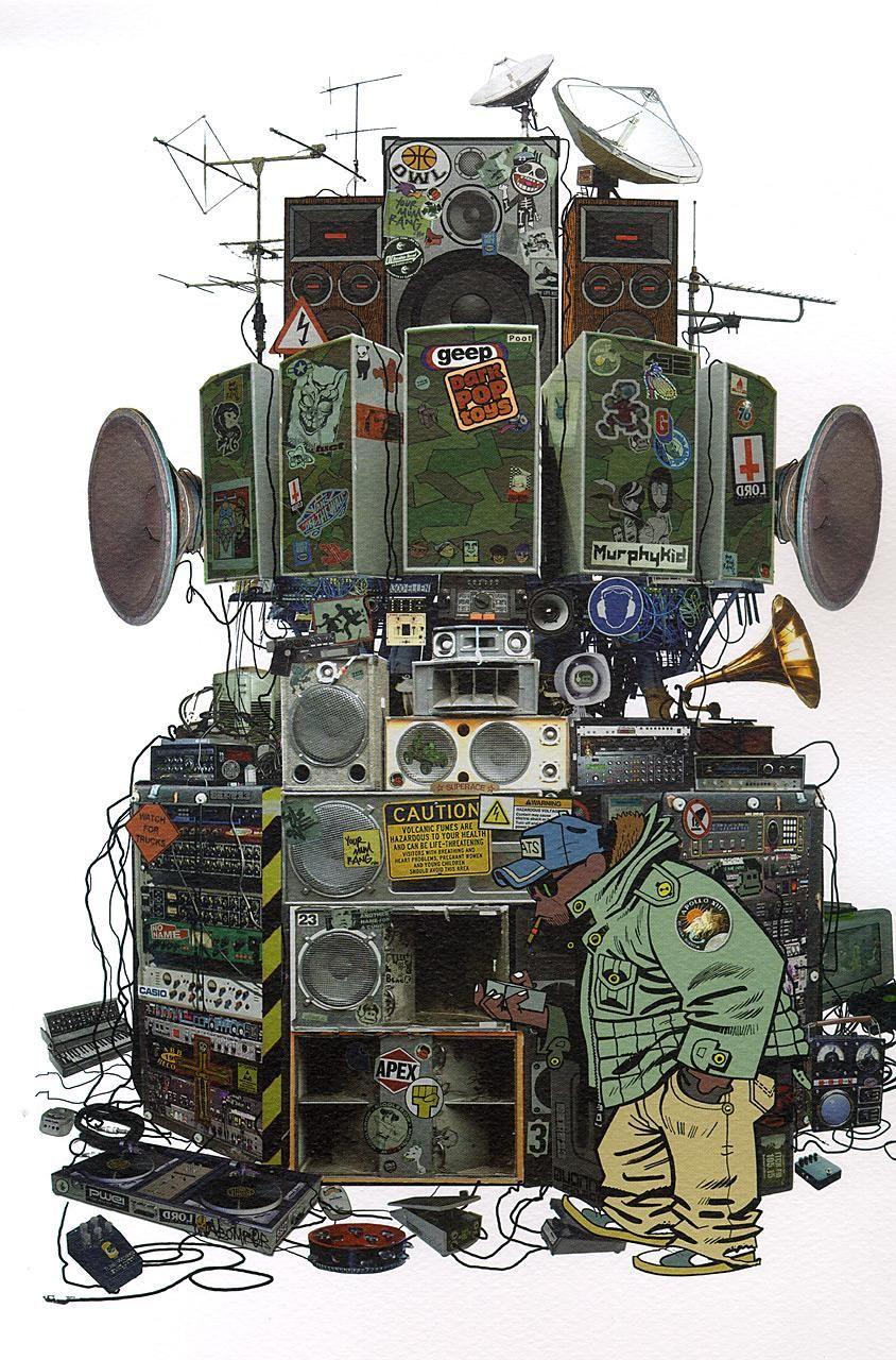 Gorillaz Sound System、1時間のミックス音源「Spring In Your