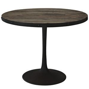 Modway Drive Wood Top Dining Table in Brown