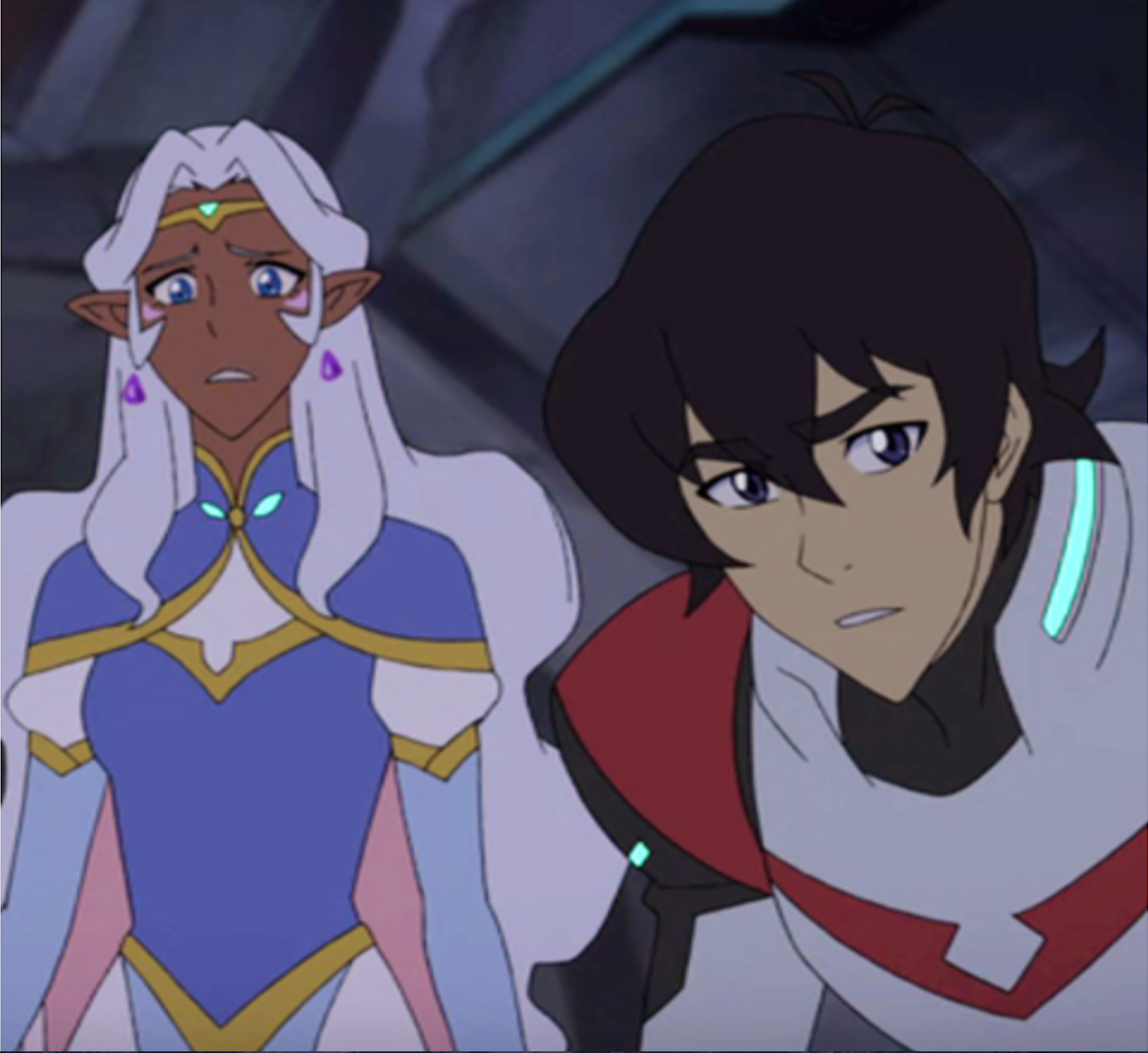 voltron keith and allura relationship