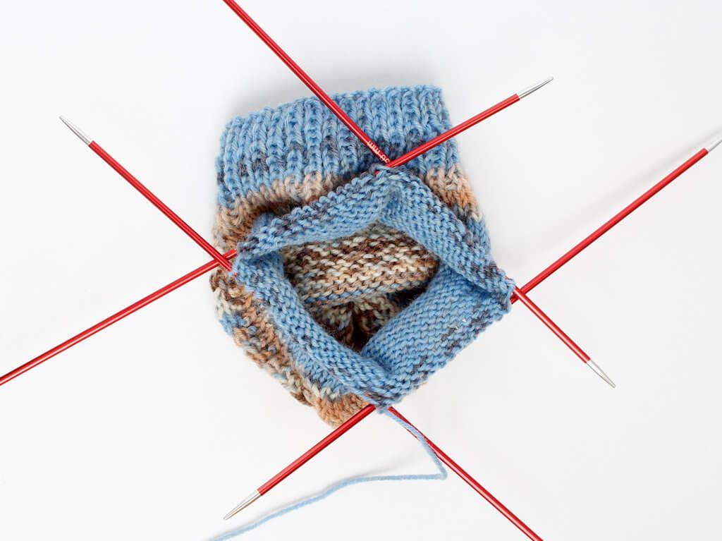 Socken stricken für Anfänger - Eine Anleitung