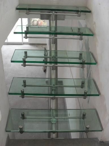 Fotos de acero inox baranda, escaleras y cristal pasamanos de