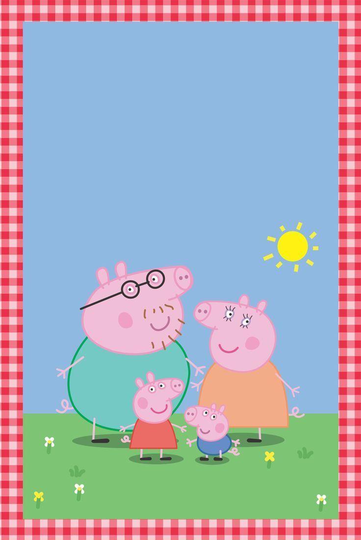 CONVITE PEPPA PIG: Prontos para Imprimir!