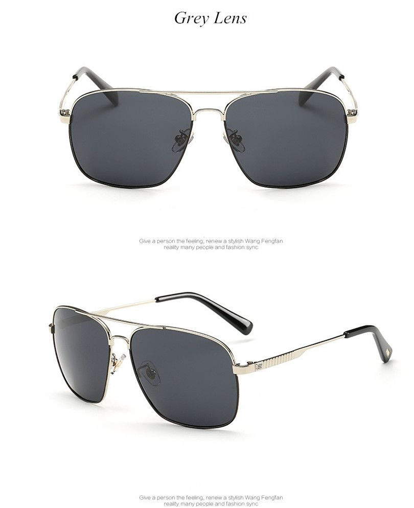 1f95ee88920 Eyewear · HD High Quality Business Classic Polarized Sunglasses Men Travel  Sun ...