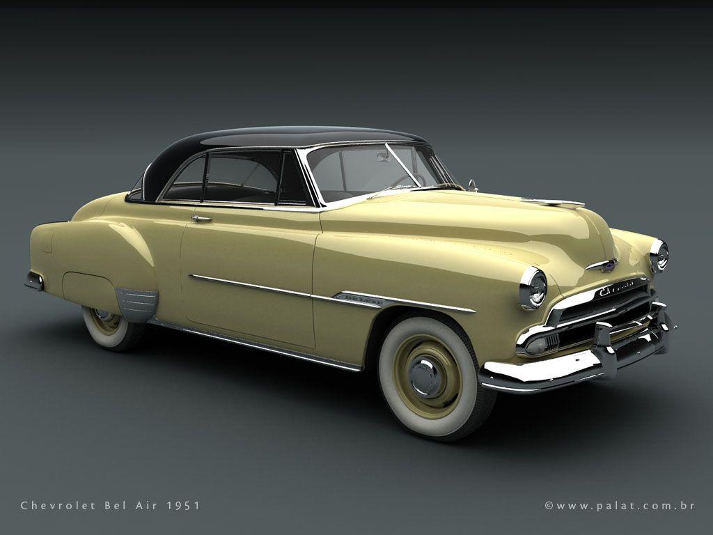 1951 Chevrolet Bel Air 2 door HT.
