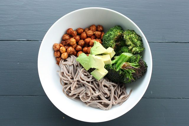 How to build an easy soba noodle salad with texture and spice.