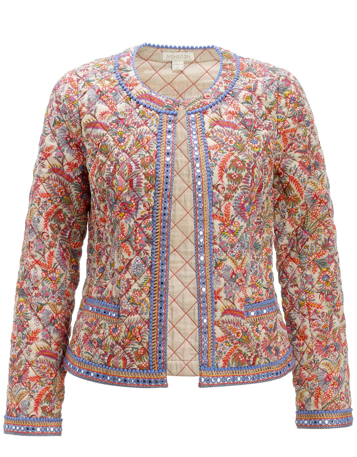 723d5c2842f2b Camilla Print Jacket, Monsoon, | Wear & Carry in 2019 | Fashion ...