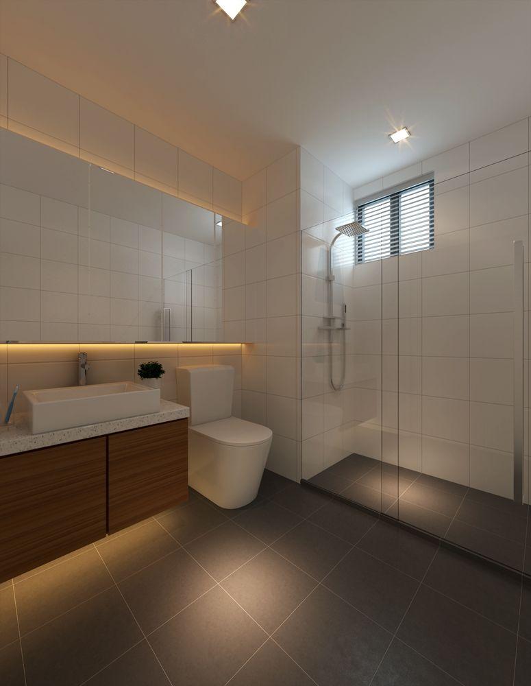 Minimalist Hdb Design: Bathroom Design Inspiration