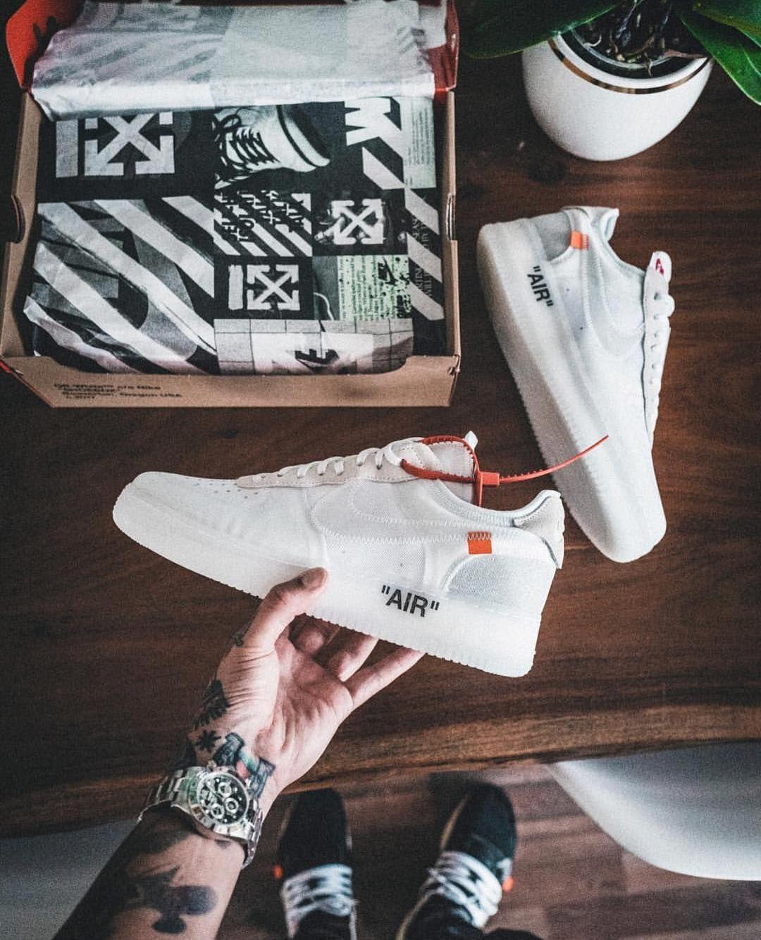buy online fe3d9 59800 Calzado Nike.  off    white  virgilabloh  AF1  TheTen by  willy  sadp  Zapatillas Para Salir
