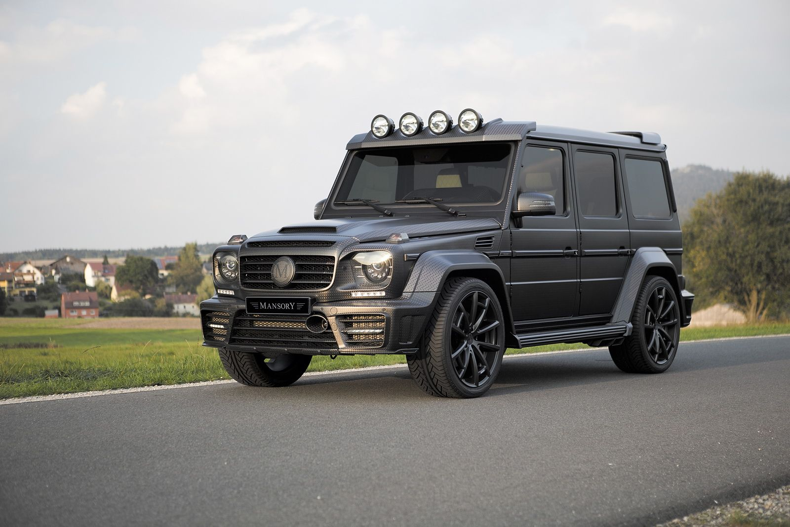 Mansory Showcases New G63 Gronos Black Edition At Iaa With Images