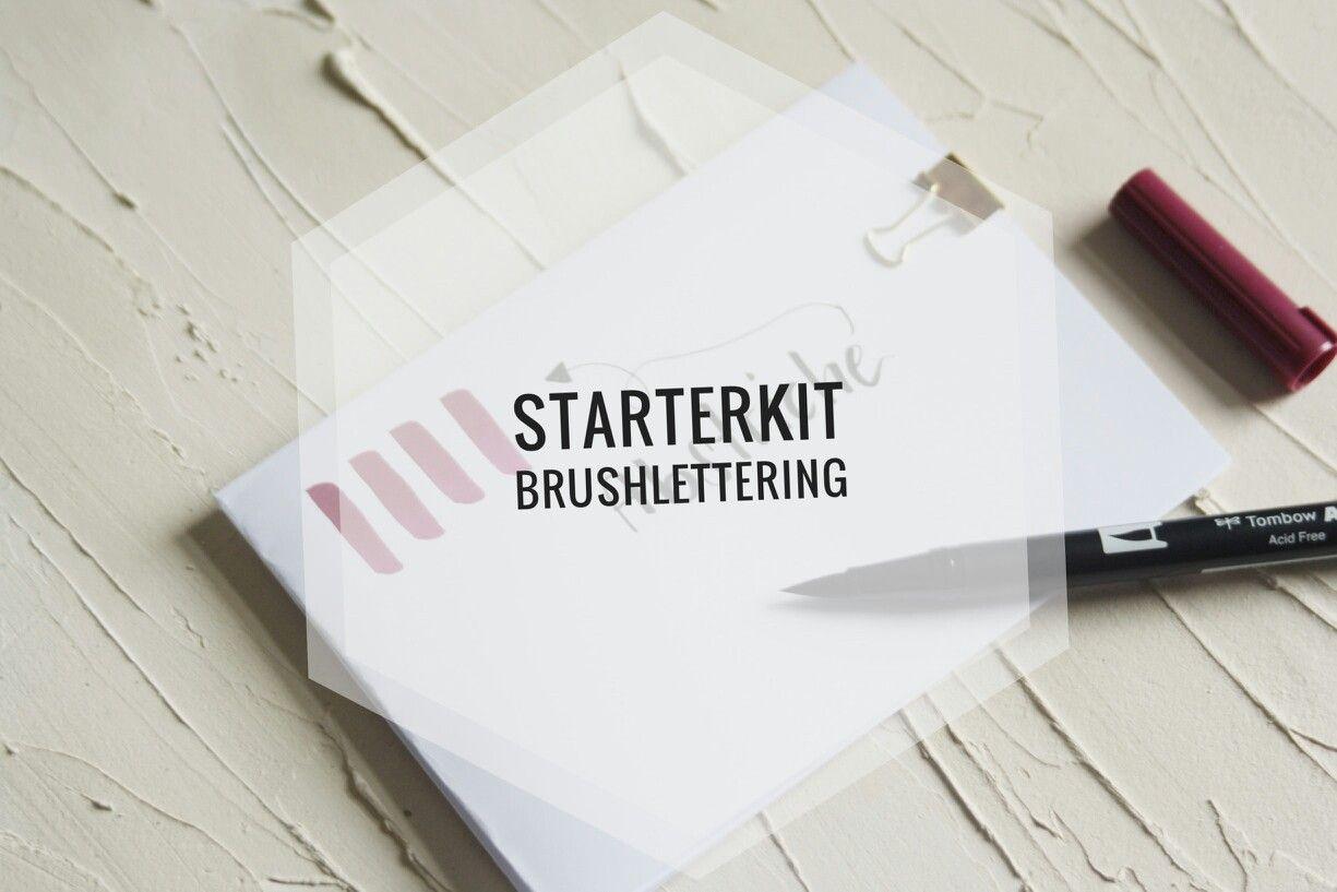 Ihr wollt mit dem Brushlettering starten? Dann nichts wie ab auf unseren Blog...