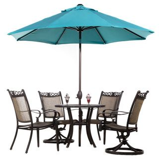 Abba Patio Auto Tilt Crank Sunbrella 9 Foot Umbrella