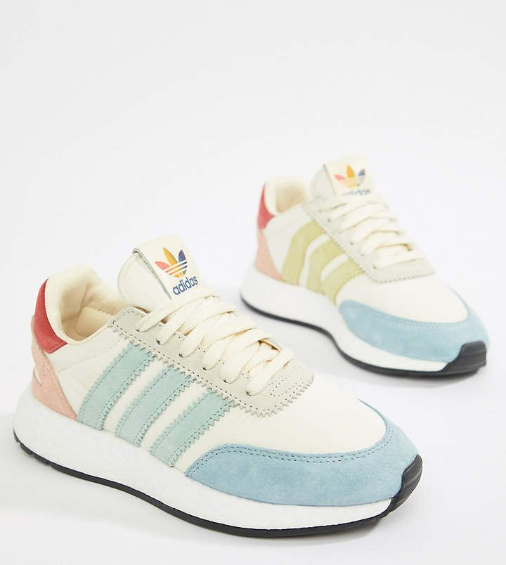 the latest 5fa9b d2ab4 adidas Originals I-5923 Pride trainers in rainbow | Sneaker ...