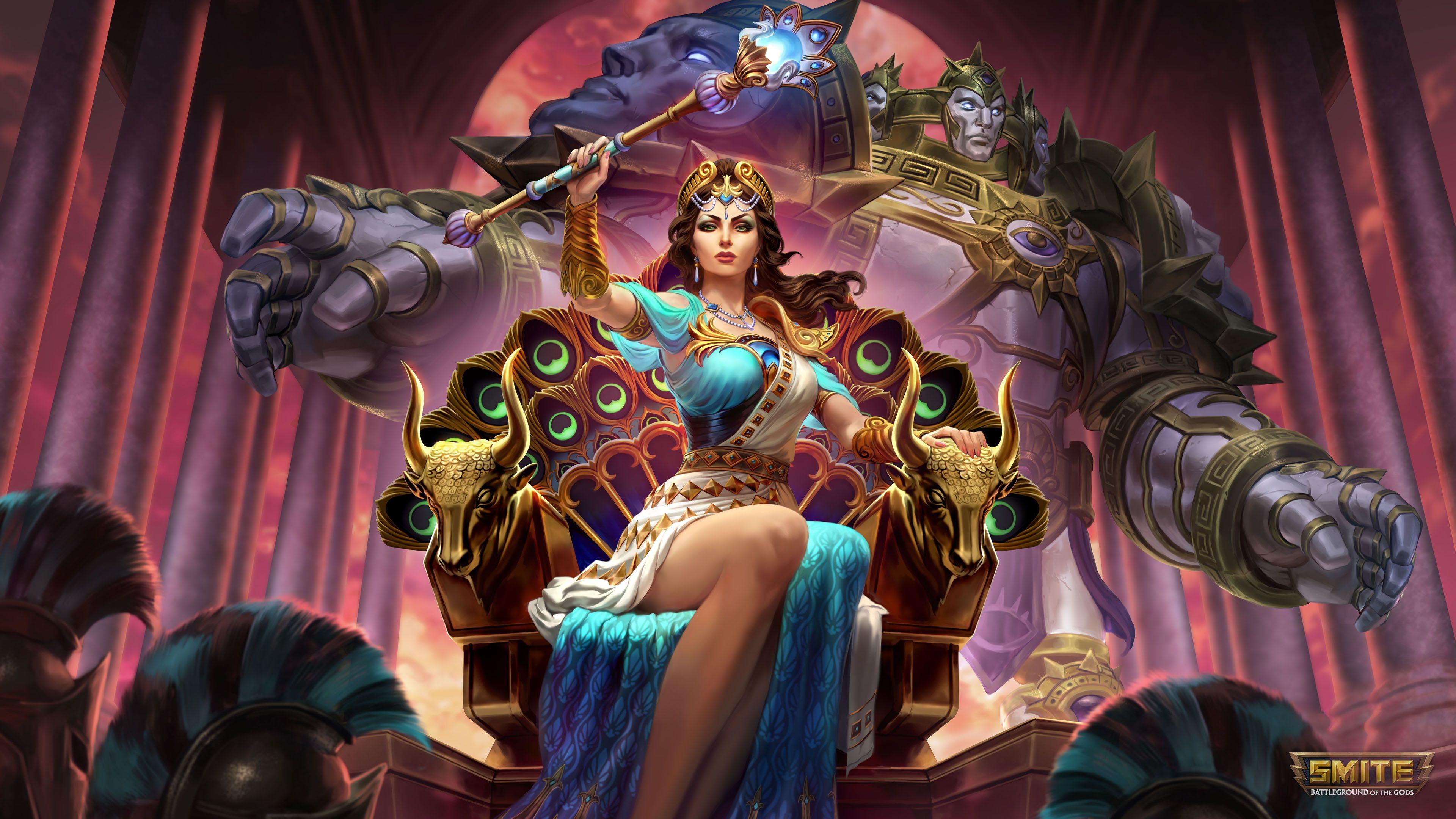 90's Porn Film Medusa Goddess hera queen of the gods 4k wallpaper | dieux