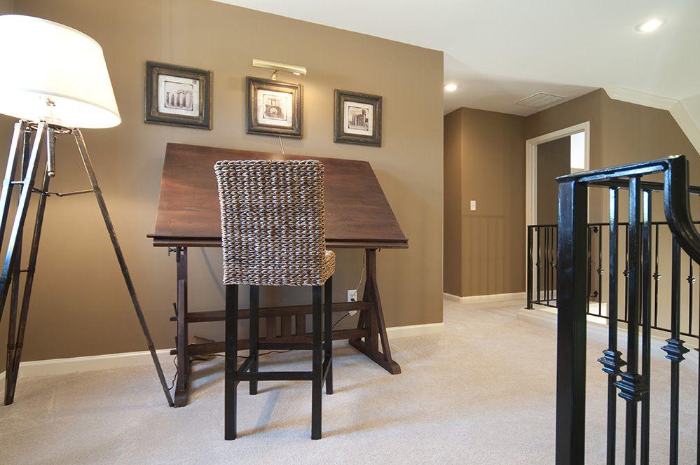 Regency homebuilders home office second bedroom - Neutral carpet colors for bedrooms ...