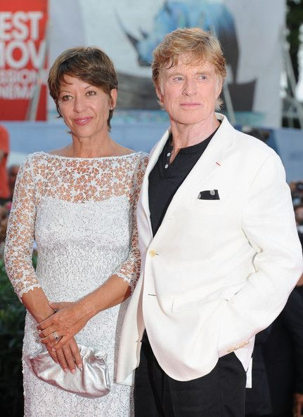 When did sibylle szaggars and robert redford start dating