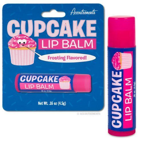AmazonSmile: Cupcake Lip Balm Frosting Dessert Flavored Scented Novelty Gift: Health & Personal Care