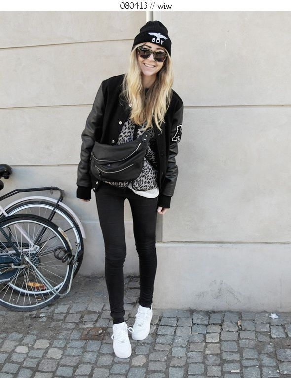 Nike Air Force One Damen Outfit Learn-german-faster.de