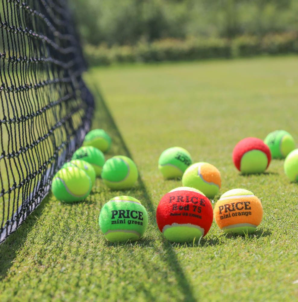 The Mini Tennis Ball Was First Developed By Us For The Lawn Tennis Association In 2001 In A Bid To Find An Easy Wa Tennis Association Lawn Tennis Tennis Balls