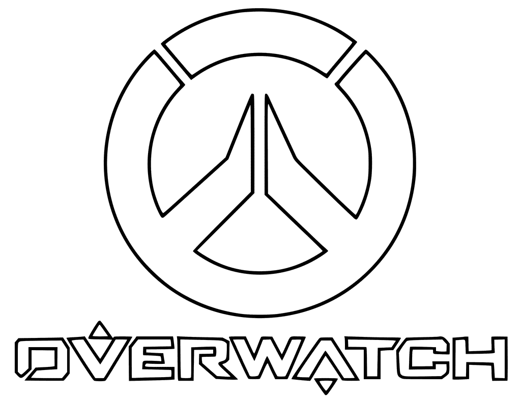 Overwatch Coloring Pages Best Coloring Pages For Kids Coloring Pages For Kids Overwatch Coloring Pages