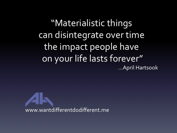 Materialistic Things Wddd Join The Movement And Take Back Your