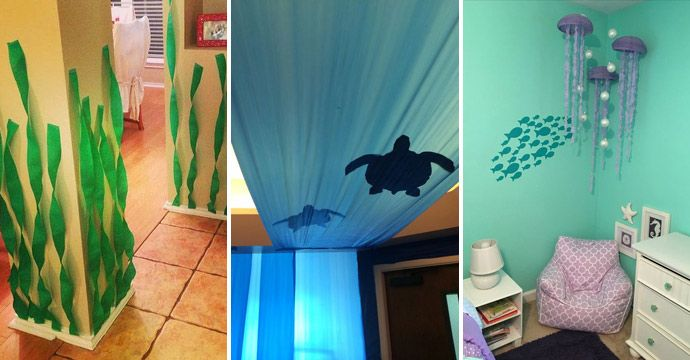 Stunning Under The Sea Decorating Ideas Kids Would Love Seaside Decor Bedroom Themes Room Decor