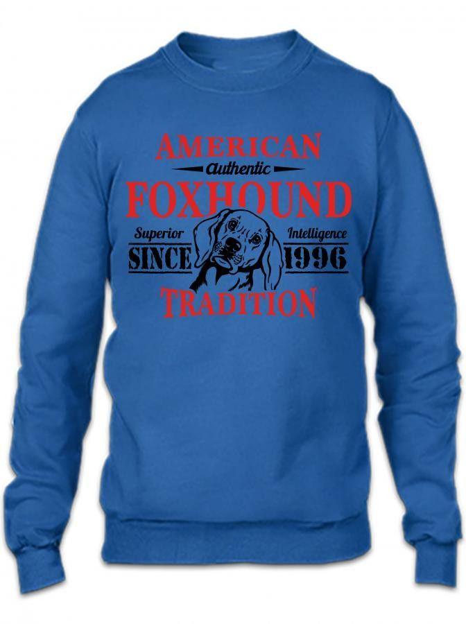 Authentic American Foxhound Tradition Crewneck Sweatshirt