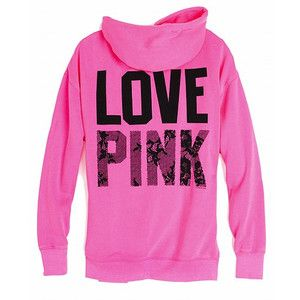 pink hoodie | VICTORIA SECRET/ PINK | Pinterest | The o'jays, Pink ...