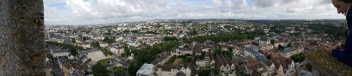 Veiw from the top of the Chartres Catherdral