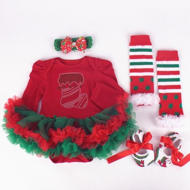 82bb5140d Baby Costumes - Infant Toddler baby Girls First Christmas Outfits - Blindly  Shop