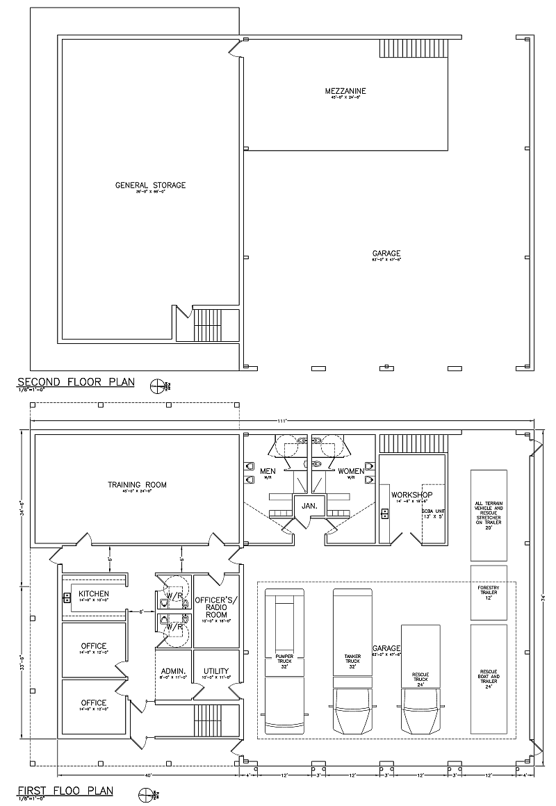 New Fire Hall Prelim Design Floor Plan Png 800 1 160 Pixels Fire Hall Fire Station House Fire