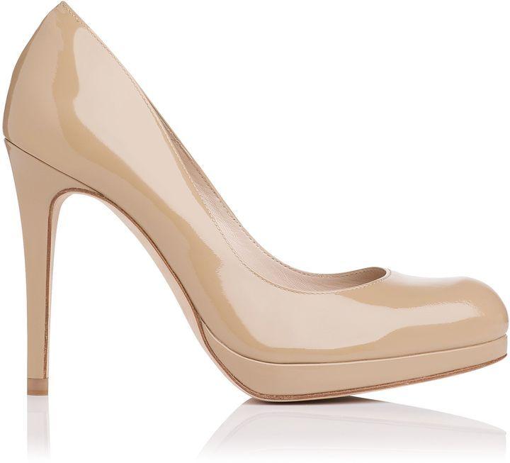 Sledge Patent Leather Platform Heel | L.K.Bennett, London
