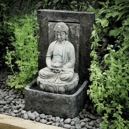 Tranquil Buddha Outdoor Water Feature, 5024160792303