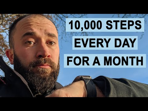 (248) We Tried Getting 10000 Steps Every Day for a Month. Here's What Happened. - YouTube