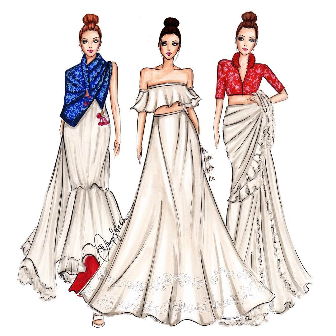 63 Likes 8 Comments Priyal Prakash House Of Design Priyalprakashh Fashion Illustration Sketches Dresses Fashion Illustration Dresses Dress Design Sketches