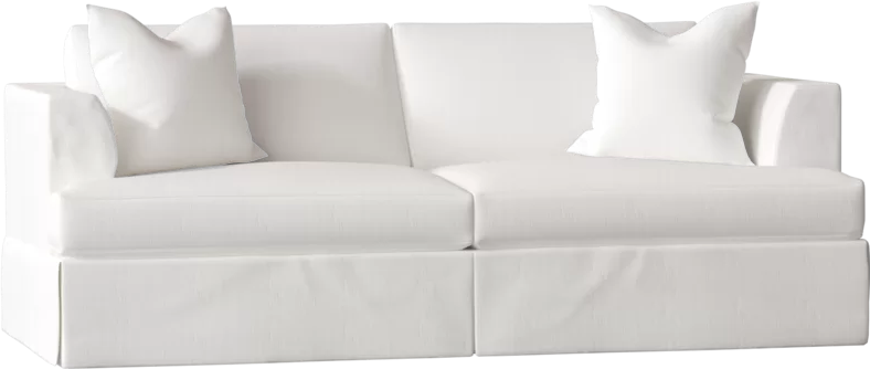 Carly 93 W Recessed Arm Sofa Bed With Images Sofa Bed Sofa