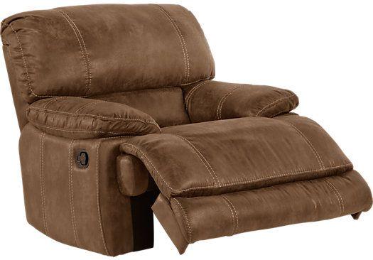 Affordable Recliner Chairs stetson ridge brown glider recliner . $499.99. 44w x 41d x 42h