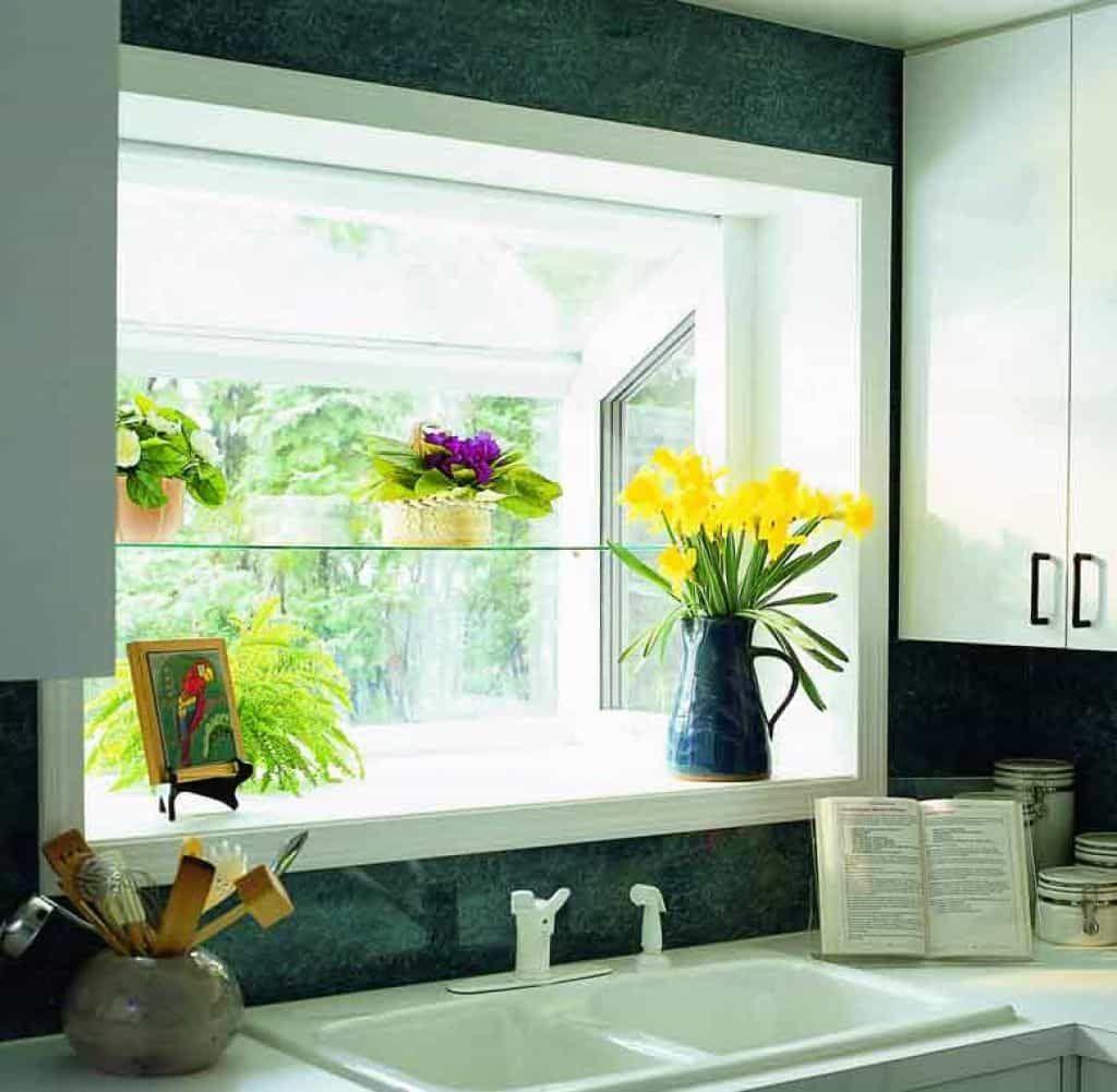 Garden Kitchen Windows Bay Window Above Kitchen Sink: Special Kitchen Garden Windows