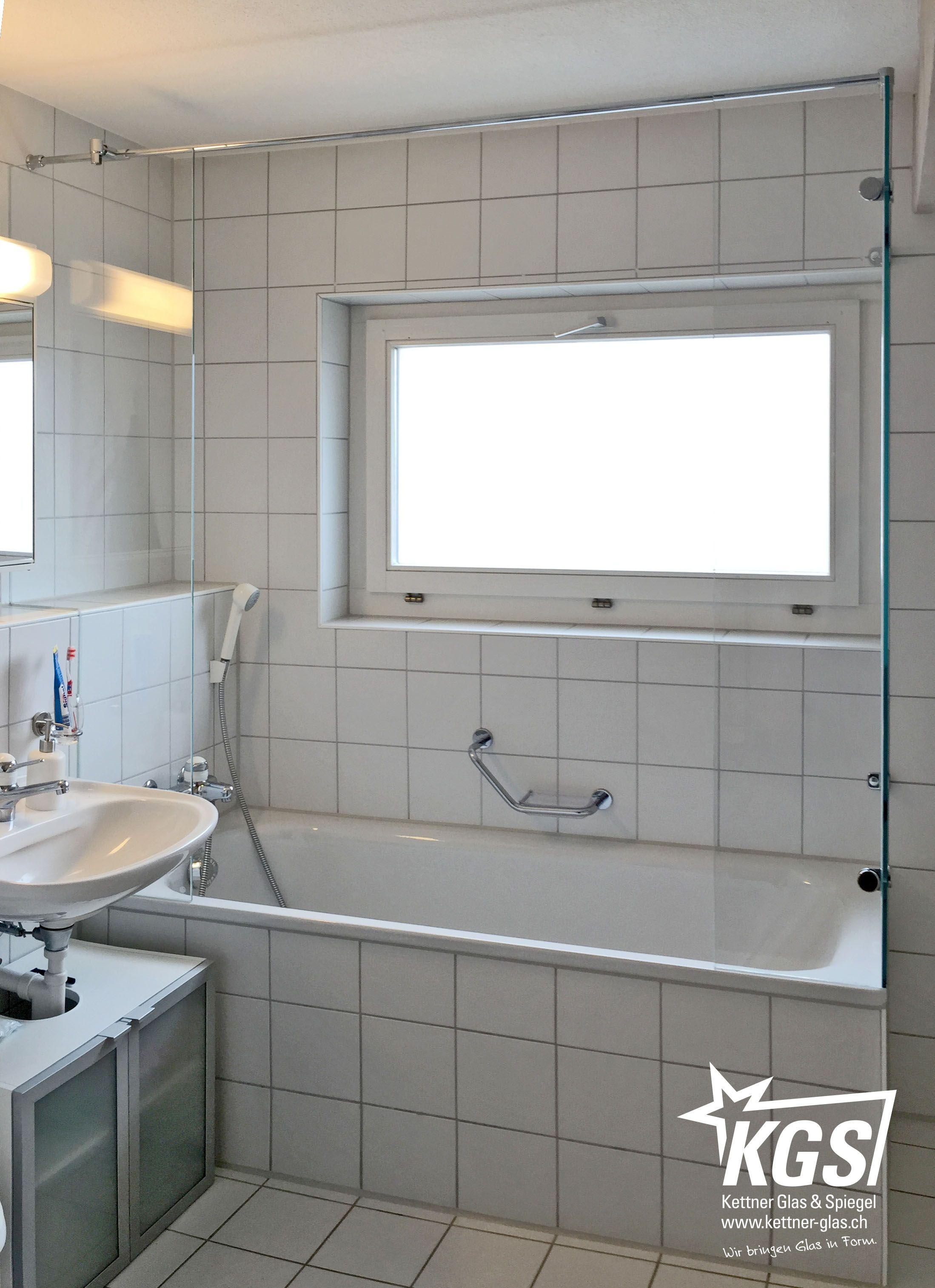 Duschtrennwande Auf Badewanne Als Seitlicher Spritzschutz Und Stabilisationsstange In Uberlange Fur Die Anbr Dusche Duschvorhang Halterung Badewanne Mit Dusche
